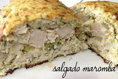 Receita fit: Salgado Maromba | By Marina