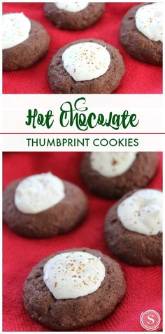 Hot Chocolate Cookies Recipe! Christmas Dessert and Holiday Treat Recipe for Parties!