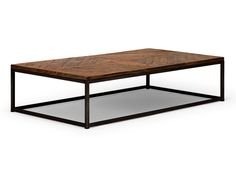 Table basse BARKLEY 120x80 en teck marron €278