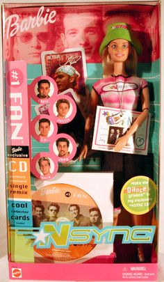 Nsync Barbie :) Why did I never get one of these?!? I TOTALLY looked like that!!