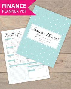 finance planner finance binder budget binder budget planner book budget printable finance printable finance tracker tax planner letter size