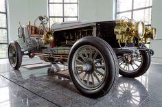 Spyker 60-HP Four-wheel Drive Racing Car 1903