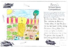 Sammi's School News Competition - Alice age from Ireland, has created a 'School Garden' theme for the headline of Sammi's Newspaper. Thanks for sharing! Steam Toys, Garden Theme, Toys For Girls, Coloring Pages For Kids, Doll Accessories, Newspaper, Competition, Ireland, Pony