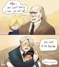 """Can we all appreciate the fact that Yuri is saying """"Victor's boobs""""? ユーリ!!! On Ice, Ice Ice Baby, Ice Pictures, Yuri On Ice Comic, Victor Nikiforov, Manhwa, Me Anime, Anime Stuff, Cartoon As Anime"""