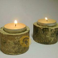 Concrete Tea light holders