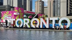 Toronto Pan Am famous sign