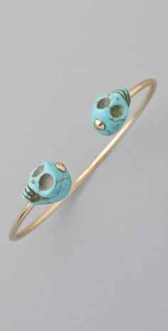 Jules Smith See You at the Souk Skull Cuff.