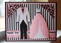 Cricut Wedding Card