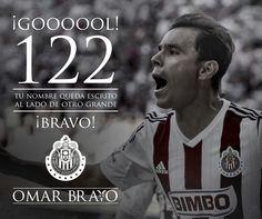 Máximo Goleador #Chivas #Guadalajara #OmarBravo