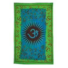 @Overstock - This amazing tapestry features a serene print floatig oms. Constructed of 100-percent cotton this can be a wall decor, a table cloth or a bedspread.http://www.overstock.com/Worldstock-Fair-Trade/Floating-Om-Tapestry-India/6799471/product.html?CID=214117 $29.69