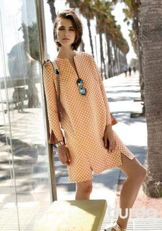 Платье: Burda 2/ 2015/ 129 / Burdastyle