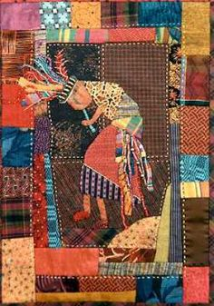 kokopelli wall hanging   Quilts By Me!   Pinterest   Walls ... : kokopelli quilt pattern - Adamdwight.com