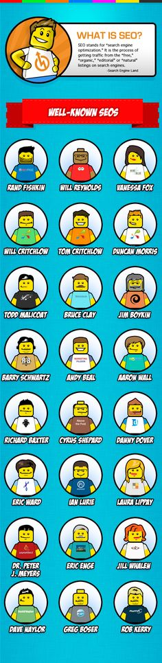 El SEO en figuras de LEGO