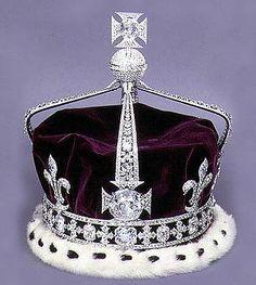 ENGLAND: Crown of Queen