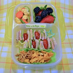 Bentos on the Bayou: Sandwich Skewers