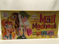 Mall Madness Electronic Talking Board Game Milton Bradley 2005 Complete Works #MiltonBradley