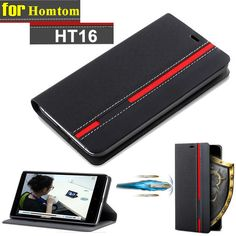 Homtom HT16 Case Flip Luxury PU Leather Back Case Cover For Homtom HT16 With Stand Wallet Style #clothing,#shoes,#jewelry,#women,#men,#hats,#watches,#belts,#fashion,#style