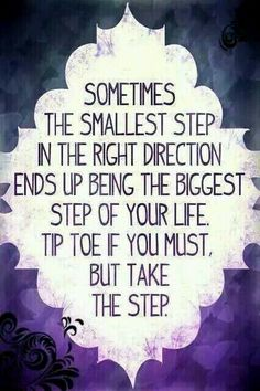 So true message me for details on how I can help you make your first step