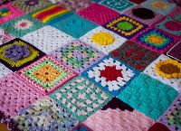 Join the Love-a group that assembles donated crochet squares and ships them to families who have recently lost children.  This is a fund you can contribute to, to help ship the blankets!
