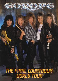 Europe Tour Program https://www.facebook.com/FromTheWaybackMachine
