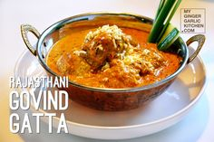 Prep time: 20 minutes Cooking time: 60 minutes Servings: 4-6 Why you would love Govind Gatta? Because it is one of the most famous Rajasthani recipes, and