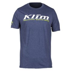 T-Shirt Klim K Corp SS T Navy Frost-White Riding Gear, Logos, Navy, Frost, Ss, Mens Tops, T Shirt, Gears, Products