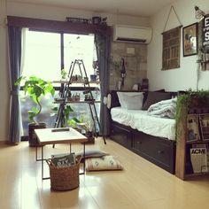 DIY/ブックシェルフ/いなざうるす屋さん/フェイクグリーン/NO GREEN NO LIFE…などのインテリア実例 - 2015-07-23 16:48:31 | RoomClip(ルームクリップ)