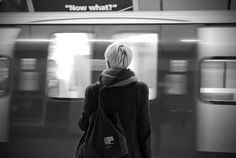black and white metro (Michele Lazzarini-Lost metro) Black And White Photo Wall, Black And White Portraits, Black And White Pictures, Black And White Photography, Long Exposure, Light And Shadow, Photography Tips, Exposure Photography, Photo And Video