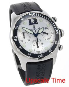 Corum Bubble Diver Chronograph Automatic Men's Watch 285-180-20-0F71EB40R