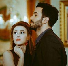 Kiralik ask ♡ Turkish Men, Turkish People, Turkish Actors, The Best Series Ever, Elcin Sangu, Muslim Wedding Dresses, Tv Couples, My Princess, Film Movie