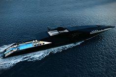 Timur Bozca Reveals The Outrageous Black Swan Superyacht