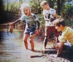 "The lost art of ""benign neglect"" (letting children roam outside, unsupervised)."