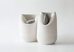 Vase with Stone by Martín Azúa