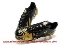 Low Price Black gold Adidas F50 adizero TRX FG Leo Messi Ballon d'Or