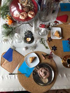 Table Settings, Table Decorations, Furniture, Food, Winter, Home Decor, Winter Time, Decoration Home, Room Decor