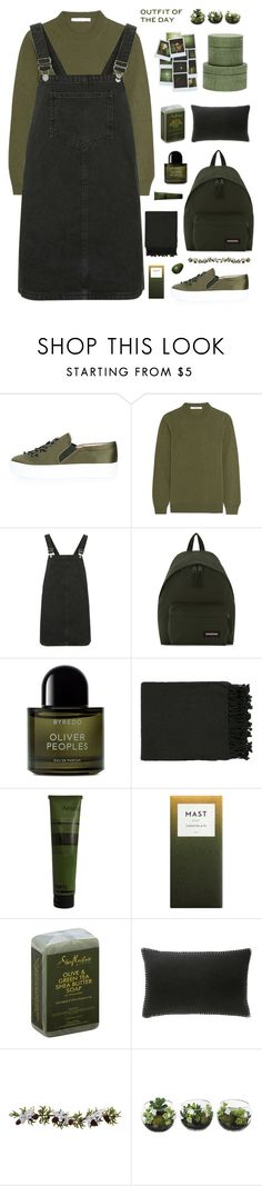 """""""Без названия #512"""" by dianakhuzatyan ❤ liked on Polyvore featuring Topshop, Givenchy, Eastpak, Byredo, Surya, Aesop, SheaMoisture, Pure Lana, Nearly Natural and Pigeon & Poodle"""