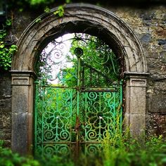 Gate in Dublin Ireland #P2Ppacking
