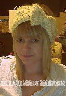 DIY Knitted Headband