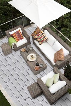 Ceramic tile is perfect for outdoor spaces – durable and beautiful. Outdoor Spaces, Outdoor Living, Outdoor Decor, Pool Paving, Bluestone Pavers, Indoor Air Quality, Other Rooms, Outdoor Furniture Sets, Patio