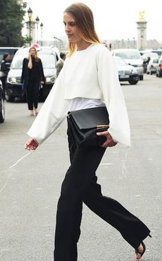 Special Edition Best Dressed: Paris Fall 2013 Couture Week - Week of July 8, 2013    WHO: Vanessa Traina Snow WHAT: Céline WHERE: Chanel haute couture show, Paris WHEN: July 2, 2013