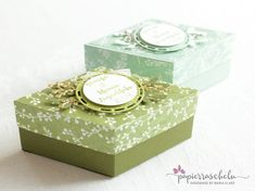 Decorative Boxes, Container, Handmade, Home Decor, Paper, Diamond Shapes, Boxes, Creative, Nice Asses