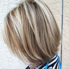 Summer short and blonde