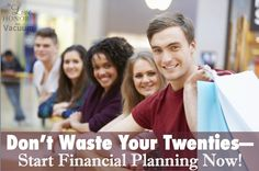 Finances in Your Twenties--Don't waste these years, even if you're single!