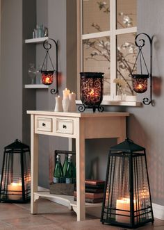 Just started independent consulting for Partylite and I love the products. These are two of my favorite...the amaretto swirl collection and the zinc lanterns. Check out these products and more great products at www.partylite.biz/sites/kimcotter