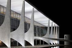 Palais présidentiel à Brasilia, Oscar Niemeyer