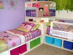 hmm...homemade beds?