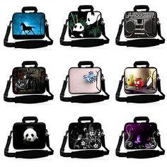 """Laptop Case Shoulder Bag For 10"""" 10.1"""" Samsung Acer HP Dell Lenovo Sony Tablet"""