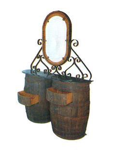 Reciclado de barricas de madera
