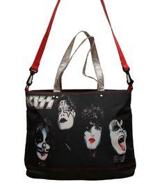 4 Pack Hard Rock Music Official Band Merchandise KISS Faces Shot Glass Set