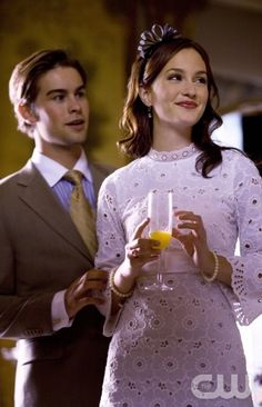 """The Wild Brunch""-- (L-R) Chace Crawford as Nate and Leighton Meester as Blair star in GOSSIP GIRL on THE CW. Photo Credit: The CW / KC Bailey© 2007 THE CW NETWORK, LLC. ALL RIGHTS RESERVED."